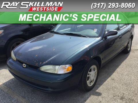 Pre-Owned 1998 Chevrolet Prizm 4DR SDN
