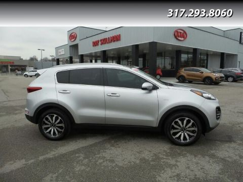 Pre-Owned 2017 Kia Sportage NAV,PANO ROOF,2-KEYS
